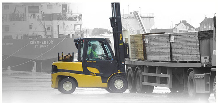 Yale Forklifts – A leader in materials handling, Forklifts